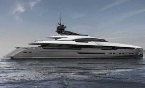 superyacht construction at Rossinavi