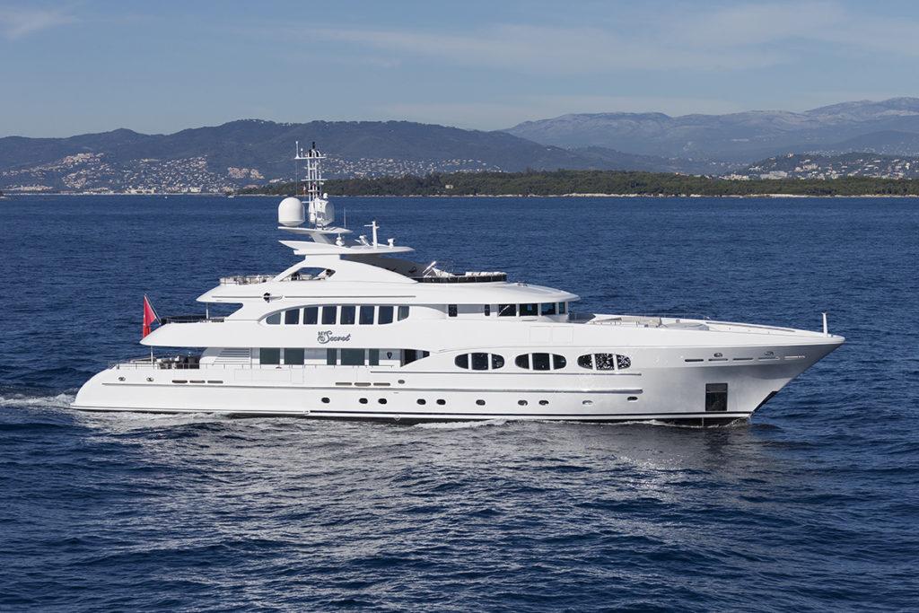 my secret yacht for charter