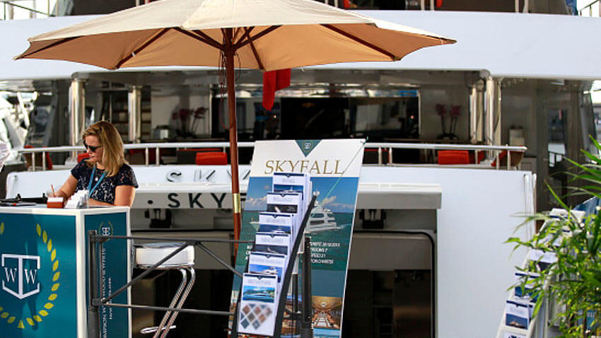 yacht show marketing