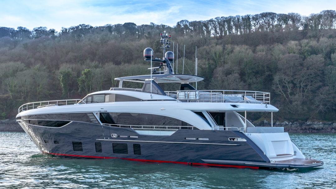 Princess 35m yacht for sale